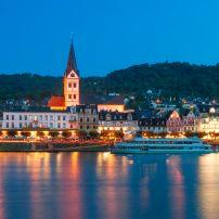 Boppard, The Rhineland, Germany, Europe.