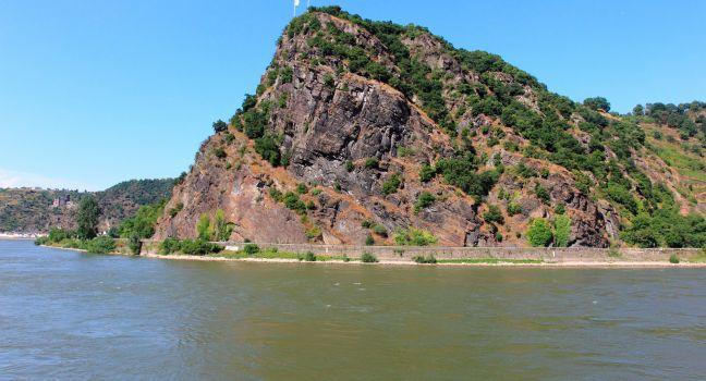 Loreley, St. Goarshausen, The Rhineland, Germany, Europe.