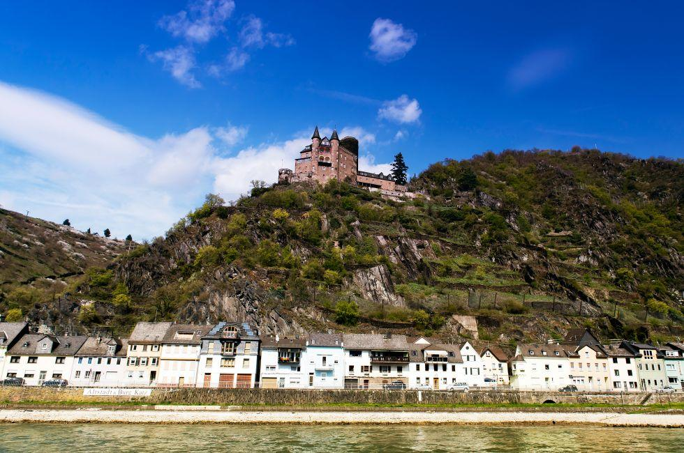 St. Goar, The Rhineland, Germany, Europe