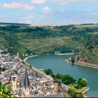 Oberwesel, The Rhineland, Germany, Europe.