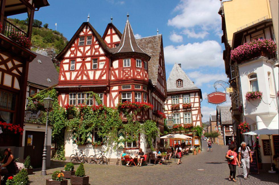 Bacharach, The Rhineland, Germany, Europe