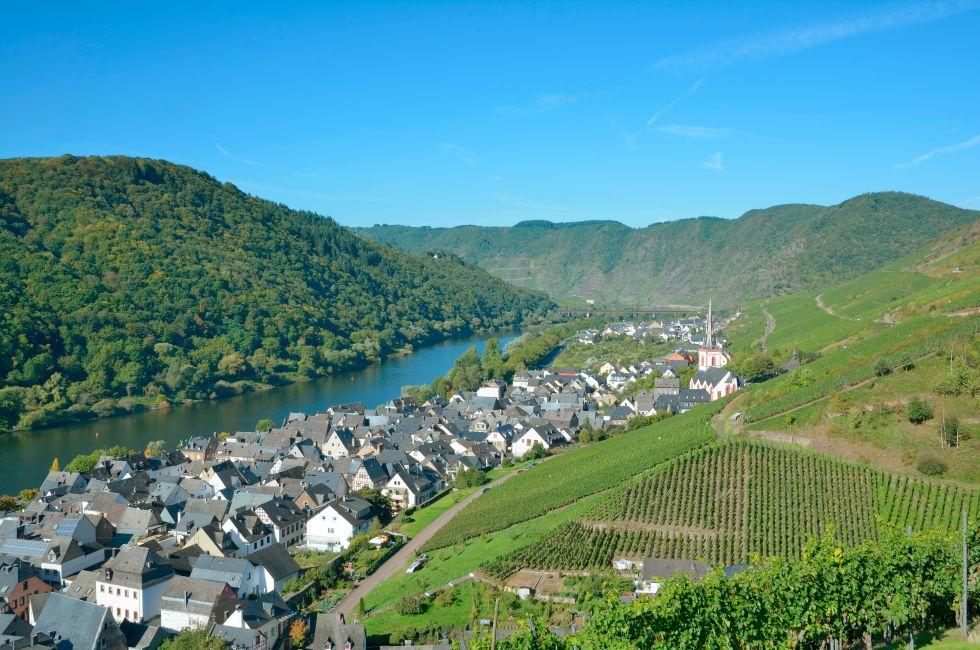Ediger-Eller, The Rhineland, Germany, Europe.