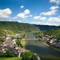 Mosel River, Bridge, Cityscape, Cochem, Rhineland-Palatinate,  Germany