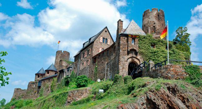 Burg Thurant, Alken, The Rhineland, Germany, Europe.