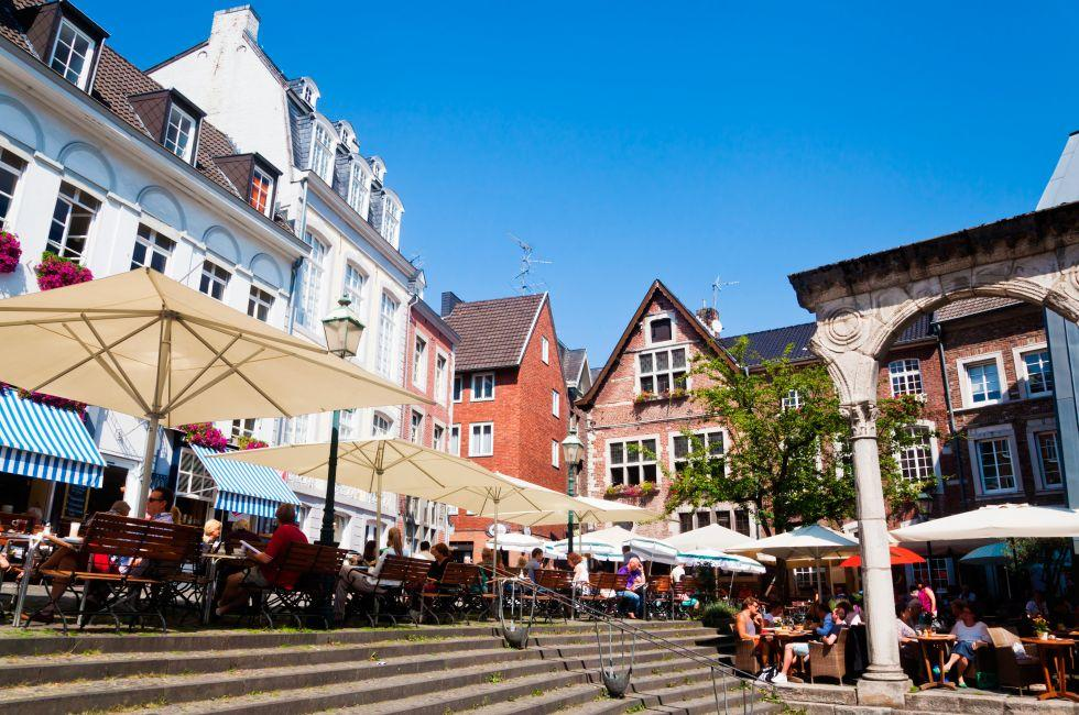 Aachen, The Rhineland, Germany, Europe.