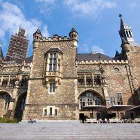 Rathaus, Aachen, The Rhineland, Germany, Europe.