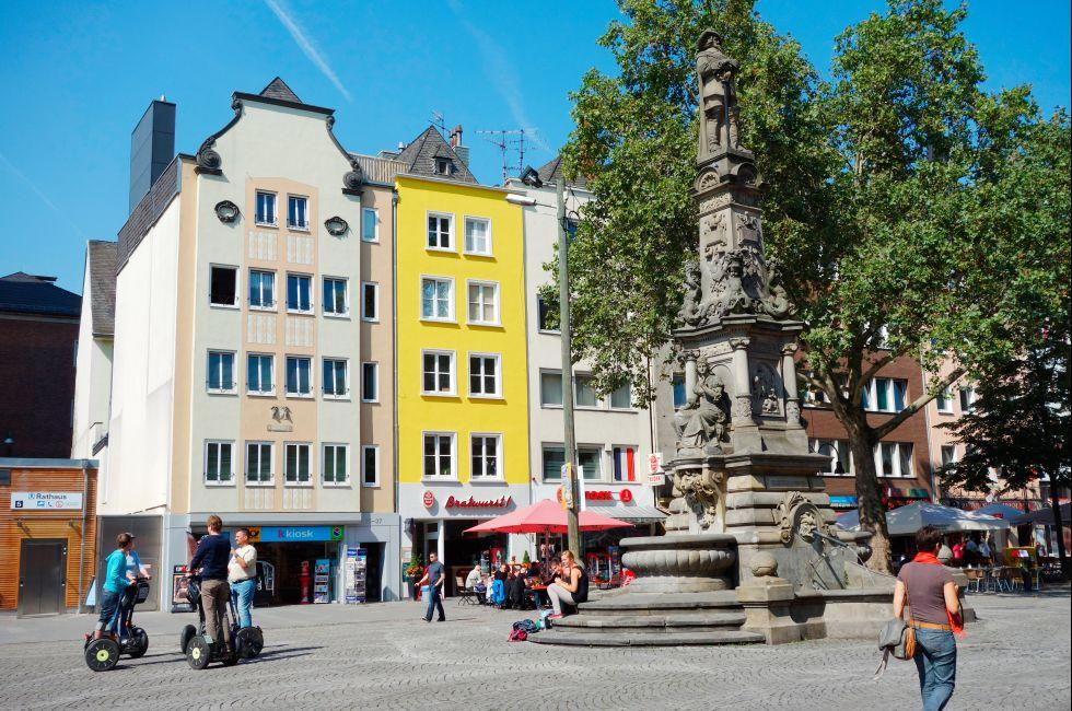 Alter Markt, Koln, The Rhineland, Germany, Europe.