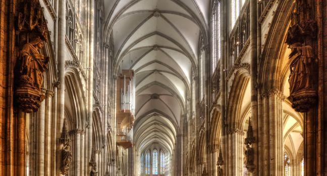 Koln Dom, Koln, The Rhineland, Germany, Europe.