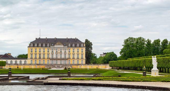 Schloss Augustusburg, Bruhl, The Rhineland, Germany, Europe.