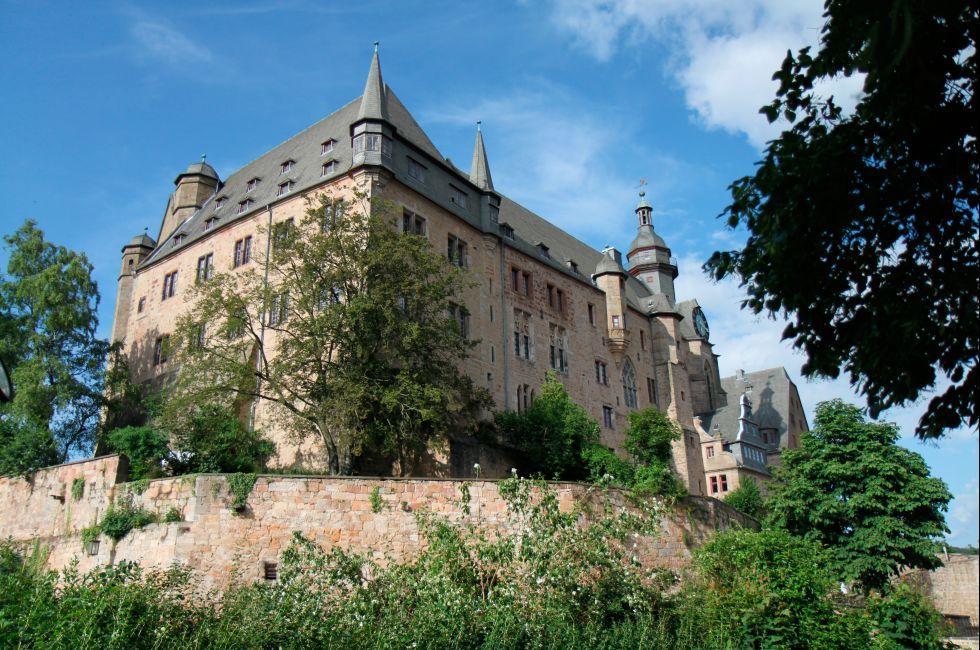 Landgrafenschloss, The Fairy-Tale Road, Germany, Europe