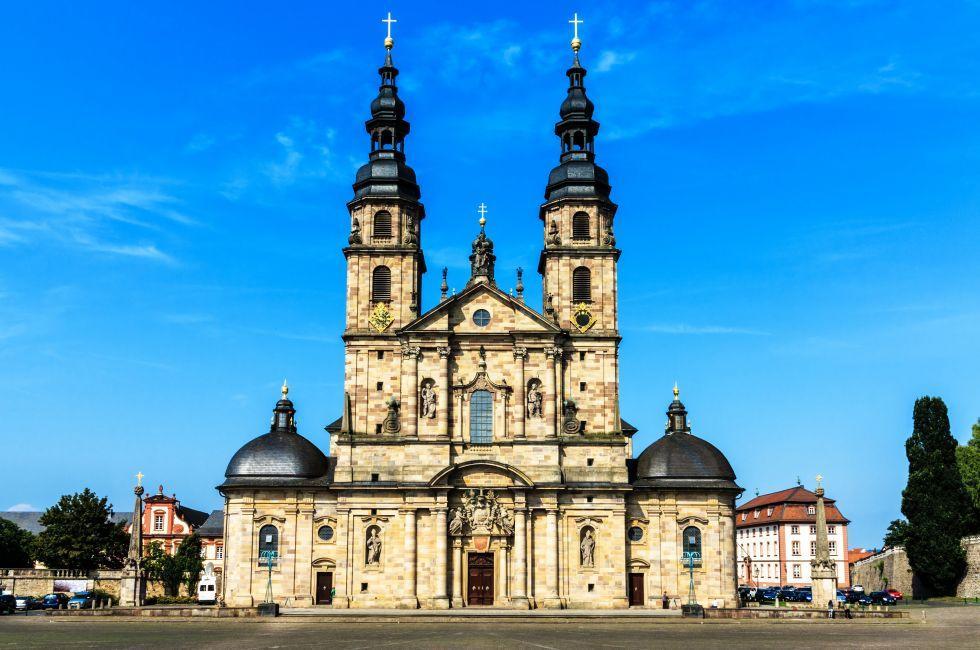 Dom zu Fulda, Fulda, The Fairy-Tale Road, Germany, Europe.