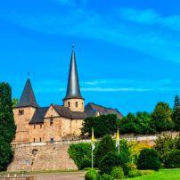 Michaeliskirche, Fulda, The Fairy-Tale Road, Germany, Europe.