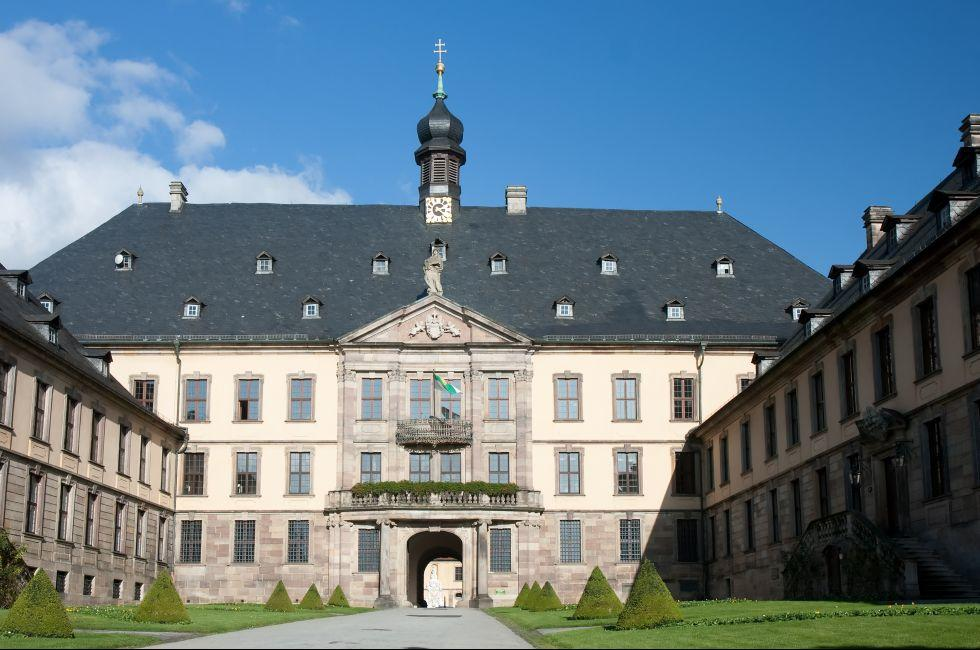 Stadtschloss, Fulda, The Fairy-Tale Road, Germany, Europe.