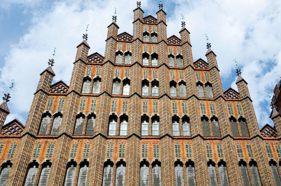 Altes Rathaus, Hannover, The Fairy-Tale Road, Germany, Europe.