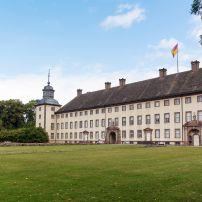 Imperial Abbey of Corvey, Reichsabtei Corvey, The Fairy-Tale Road, Germany, Europe