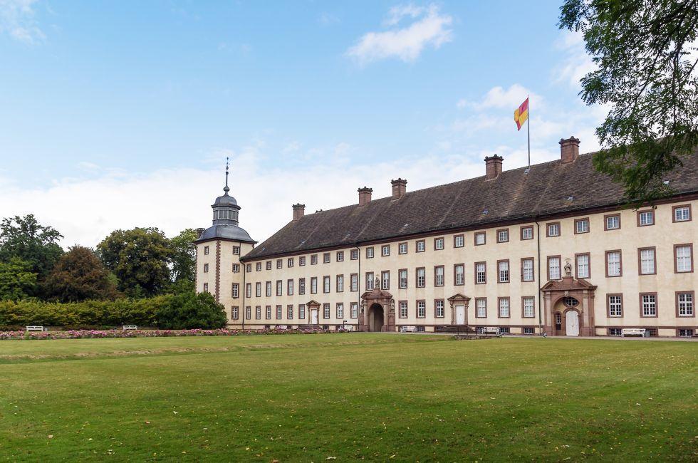 Imperial Abbey of Corvey, Reichsabtei Corvey, The Fairy-Tale Road, Germany, Europe