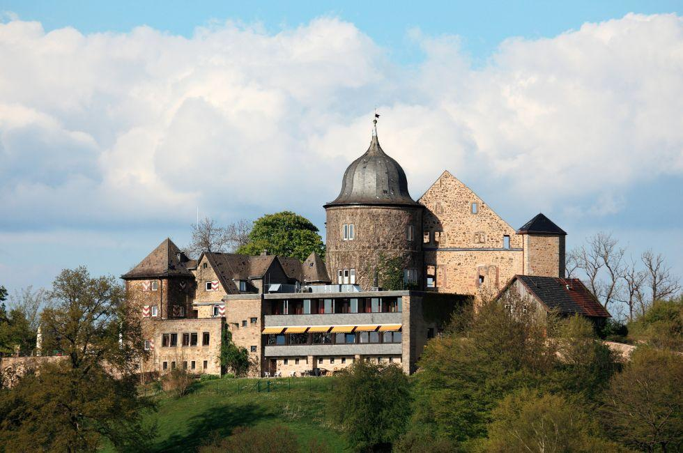 Dornröschenschloss, Sababurg, The Fairy-Tale Road, Germany, Europe.