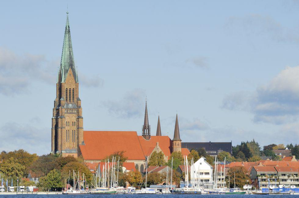 Schleswig Cathedral, Schleswig, Schleswig-Holstein and the Baltic Coast, Germany, Europe