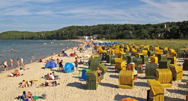 Binz, Rugen Island, Schleswig-Holstein and the Baltic Coast, Germany, Europe