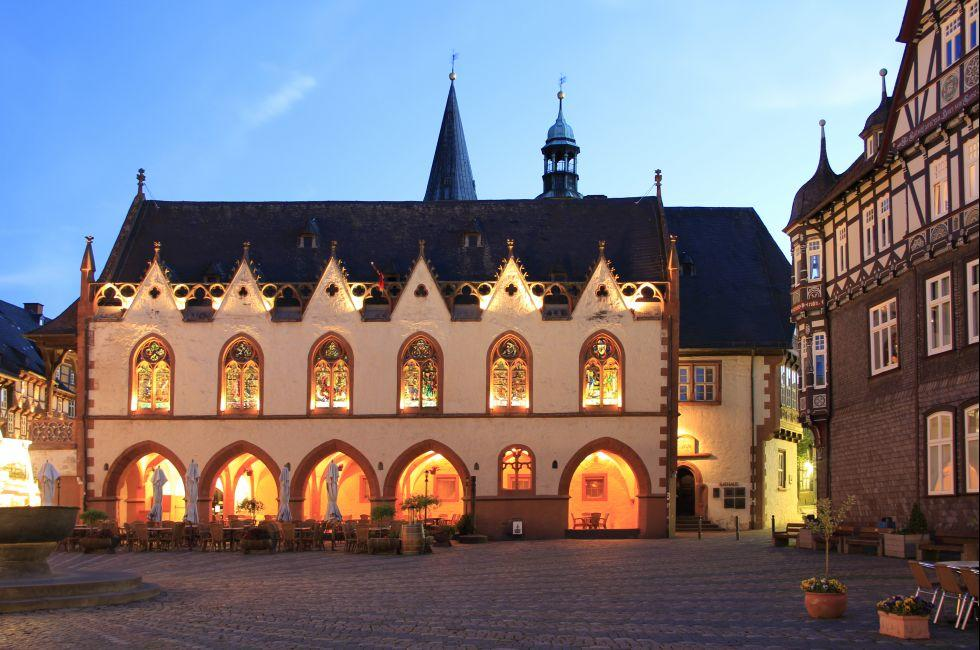 Goslar, Saxony, Saxony-Anhalt, and, Thuringia, Germany, Europe.