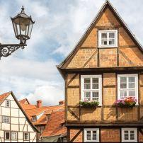 Quedlinburg, Saxony, Saxony-Anhalt, and, Thuringia, Germany, Europe.