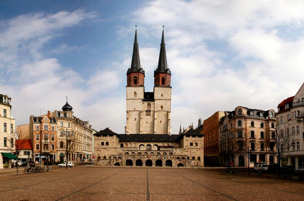 Halle, Saxony, Saxony-Anhalt, and, Thuringia, Germany, Europe.