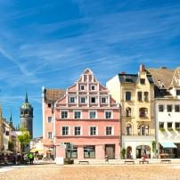 City Square, Architecture, Wittenberg, Saxony, Germany