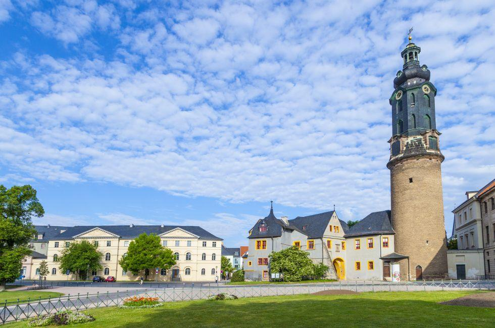 City Castle, Weimar, Saxony, Saxony-Anhalt, and, Thuringia, Germany, Europe.