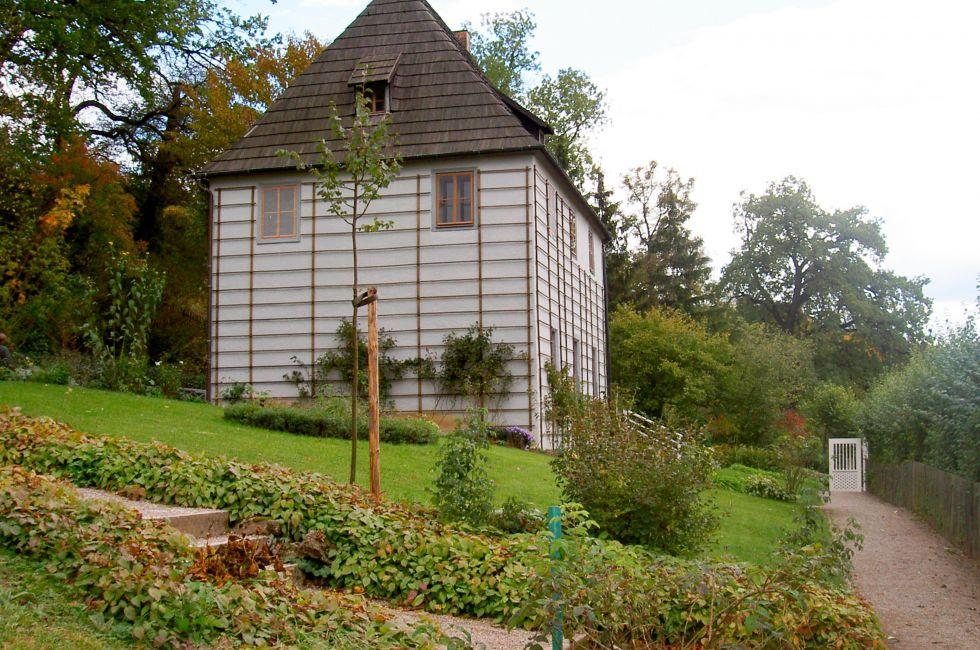 Goethes Gartenhaus, Weimar, Saxony, Saxony-Anhalt, and, Thuringia, Germany, Europe.
