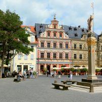 Erfurt, Saxony, Saxony-Anhalt, and, Thuringia, Germany, Europe.
