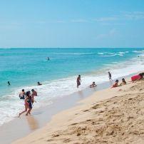 White Plains beach, West (Leeward) Oahu, Honolulu and Oahu, Hawaii