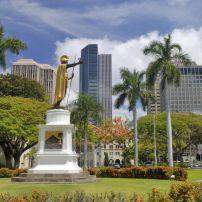 Downtown, Honolulu, Honolulu and Oahu, Honolulu, Hawaii, USA