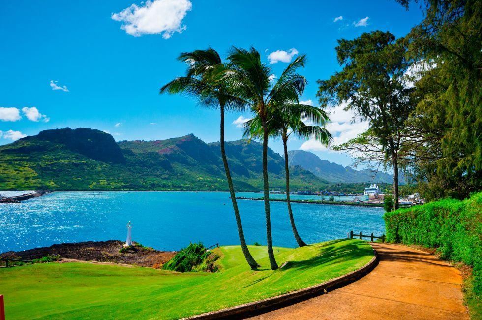 Nawiliwili, South Shore Kauai, Kauai, Hawaii, USA.