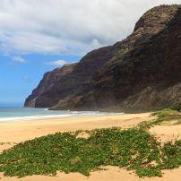 Beach, Polihale State Park, West Side Kauai, Kauai, Hawaii, USA