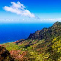 Kalalau Valley, West Side Kauai, Hawaii, USA.