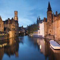 Night, Brugge, Belgium