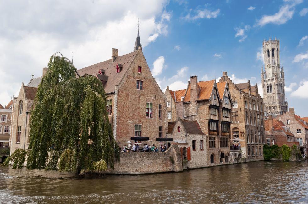 Quai of the Rosary, Rozenhoedkaai, Brugge, Belgium