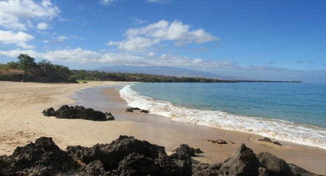 Hapuna Beach State Recreation Area, Waimea, Big Island, Hawaii, USA