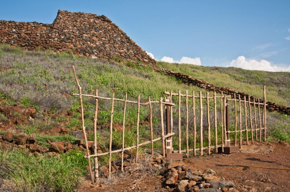 Pu'ukohola Heiau National Historic Site, Waimea, Big Island, Hawaii, USA