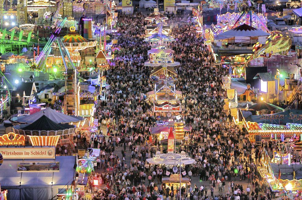 Oktoberfest, Ludwigvorstadt, Munich, Germany, Europe.