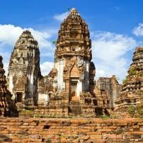 Wat Phra Si Rattana Mahthat, Lopburi, Around Bangkok, Thailand