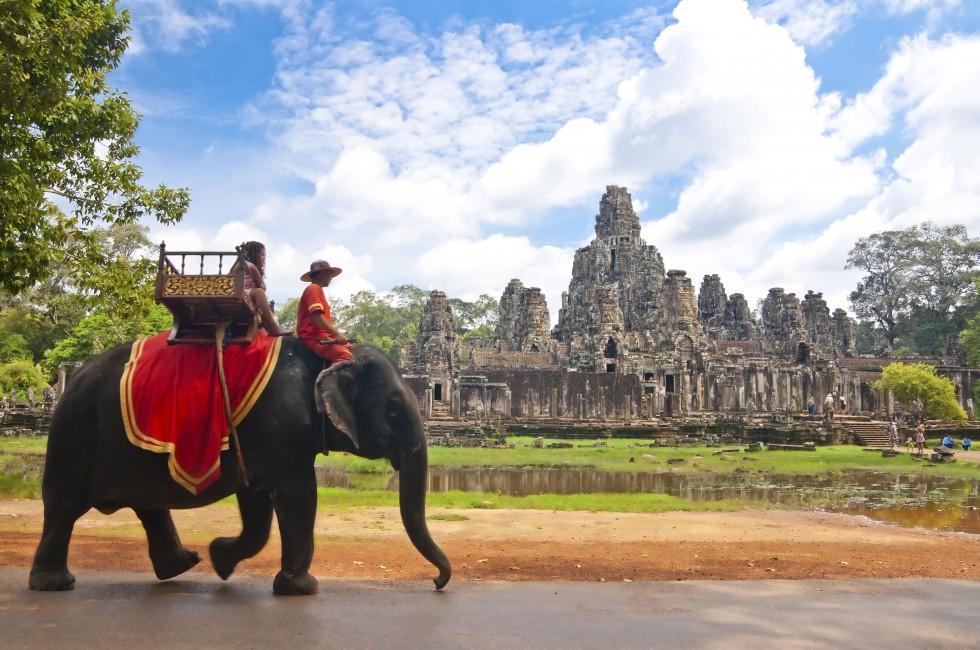 Bayon, Angkor, Siem Reap, Cambodia