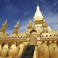 Golden Pagoda, Wat Pha-That Luang, Vientiane, Laos