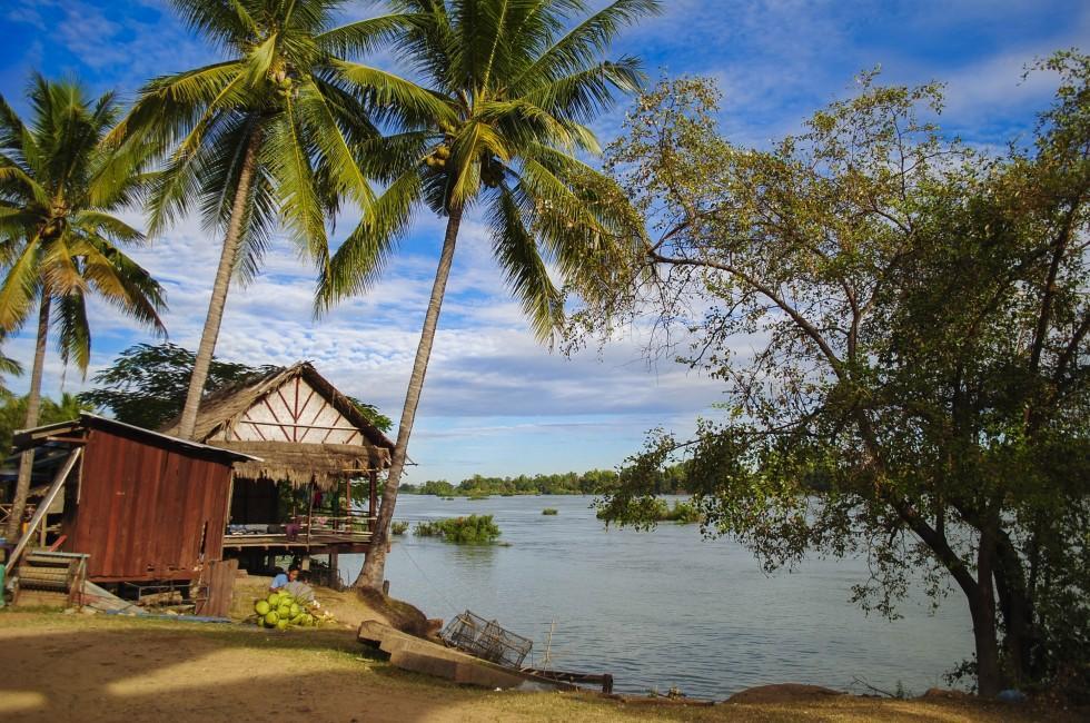 Si-Phan-Don, Mekong River, Southern Laos