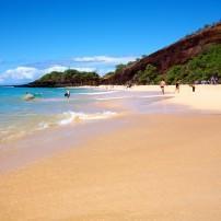 Big Beach, Makena Beach State Park, Maui, Hawaii, USA
