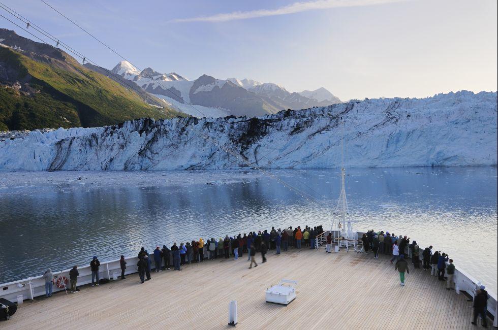 Cruise, Glacier, Alaska Glacier Bay National Park, Alaska, USA
