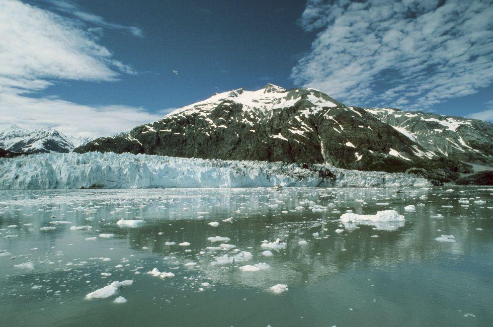 Glacier, Alaska Glacier Bay National Park, Alaska, USA