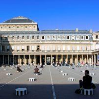 Courtyard, Palais Royal, Paris, France