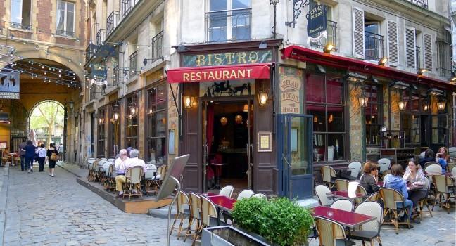 Bistro, Restaurant, Cour du Commerce St-Andre, Paris, France