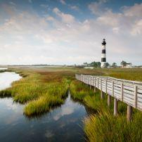 Lighthouse, Bodie Island, Cape Hatteras National Seashore, North Carolina